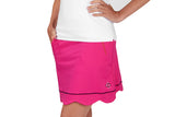 "Womens ""Birdie"" Golf Skirt (Fuchsia)"