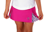 "Girls ""Deuce"" Tennis Skirt (Fuchsia)"