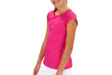 Girls Performance Top (Fuchsia)