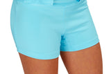 "Girls ""Fairway"" Golf Skirt (Turquoise)"