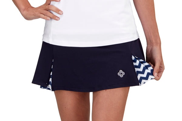 "Womens ""Deuce"" Tennis Skirt (Navy)"