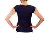 Womens Performance Top (Navy)