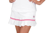 "Womens ""Rally"" Ruffle Skirt (Pink Ribbon)"