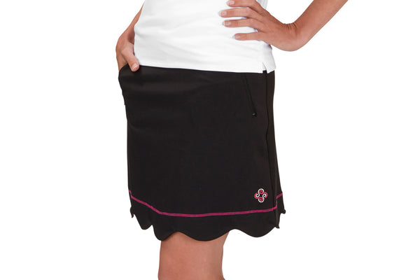 "Womens ""Birdie"" Golf Skirt (Black)"