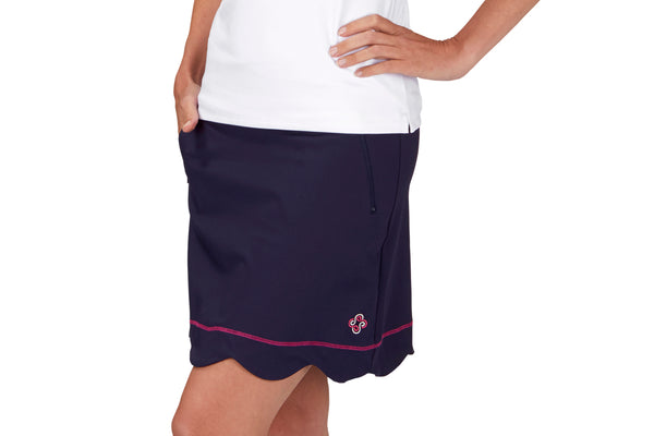 "Womens ""Birdie"" Golf Skirt (Navy)"
