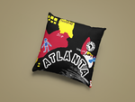 Atl B. Fly Throw Pillow