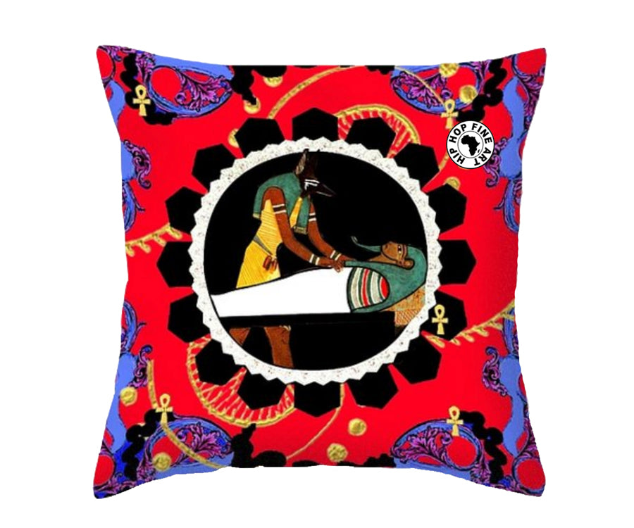 Afterlife by Hip Hop Fine Art, Designer Throw Pillow