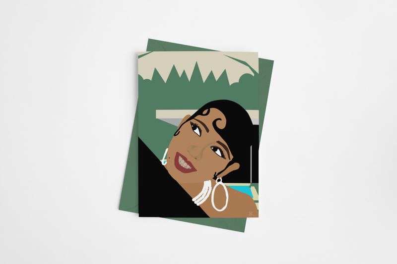 "Josephine ""Thinking of You"" Greeting Card"
