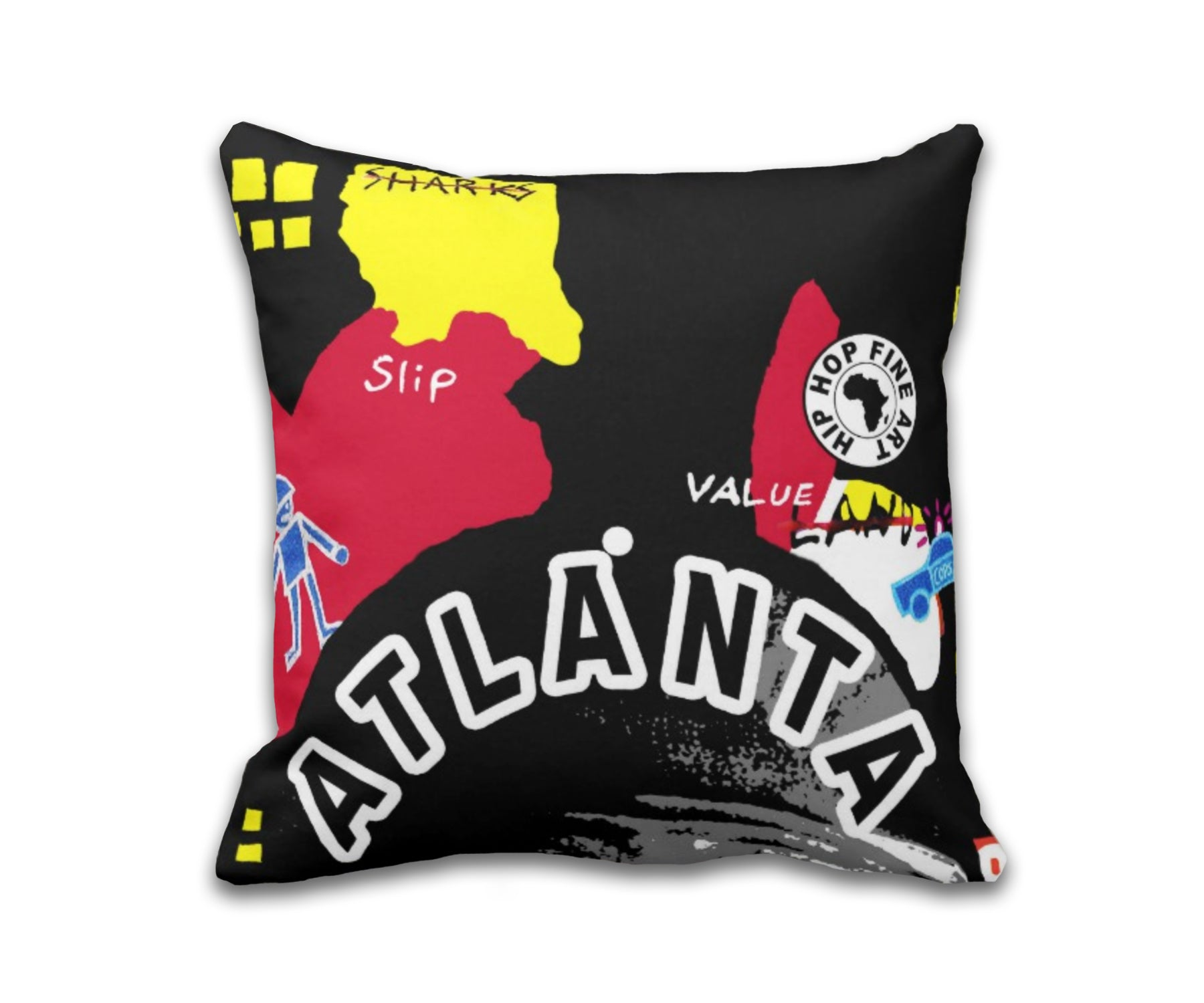 Atl Boro Collect Fly Throw Pillow