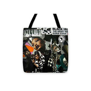 Black Vogue Dope Tote Bag