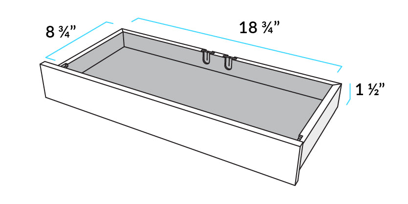 Inside Drawer Dimensions