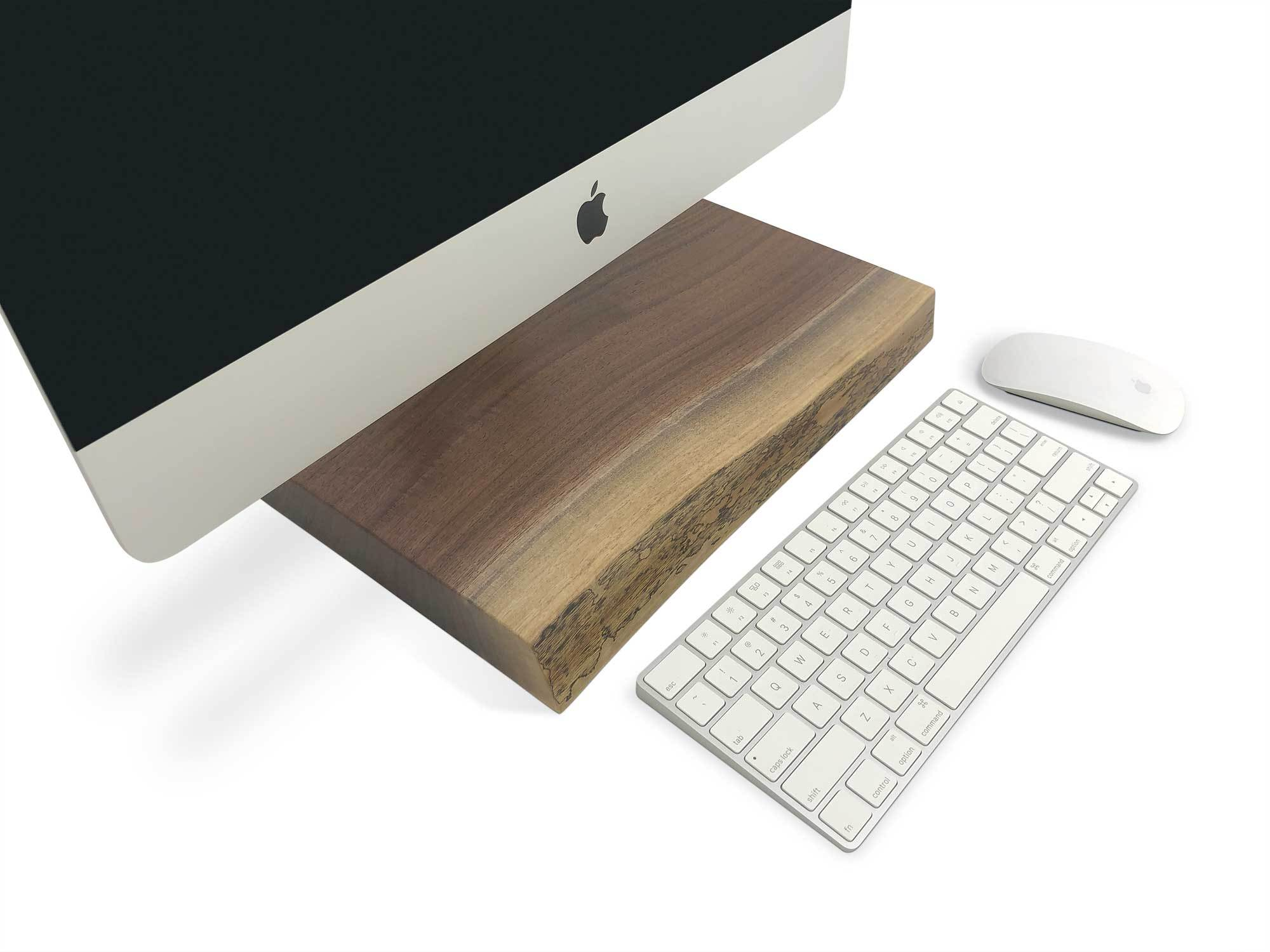 HARVEST - Live Edge Computer Stand
