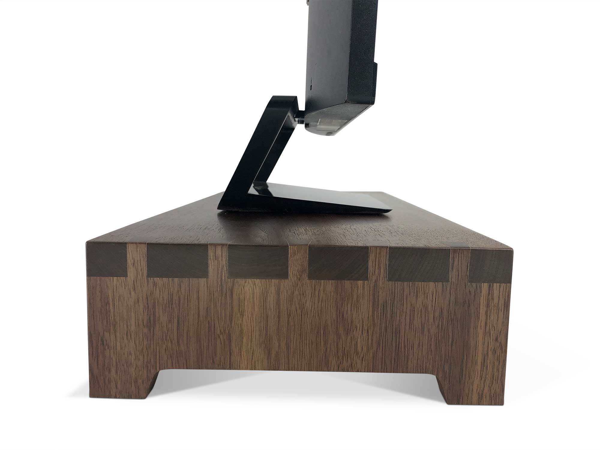 PLANET 3 Walnut –Urban Wood Desktop Computer Stand