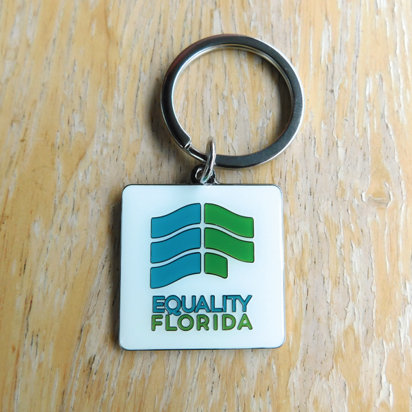 Equality Florida Key Chain