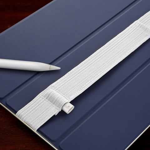 Stylus Sling for Apple Pencil White-Stitch version
