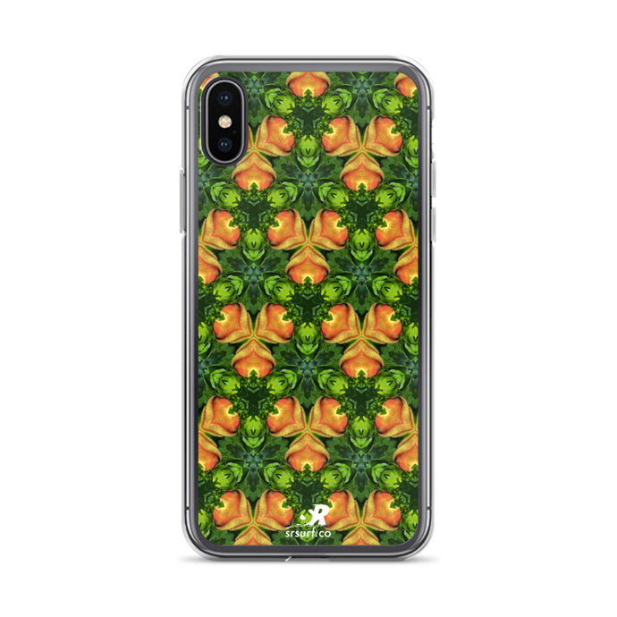 Tropical Fruit Orchard Design iPhone Case