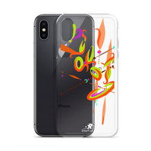 Load image into Gallery viewer, Spark Orange Contemporary iPhone Case