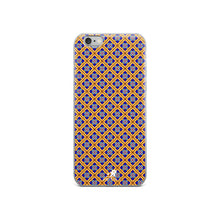 Load image into Gallery viewer, Royal Diamond Jeweled Glass Pattern iPhone Case