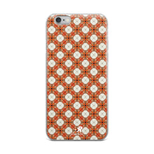 Load image into Gallery viewer, Hawaiian Sunrise Gardenia Floral Pattern iPhone Case