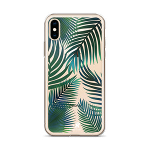 Tropical Palms iPhone Case