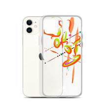 Load image into Gallery viewer, Spark Orange Contemporary Vibrant Design - iPhone Case