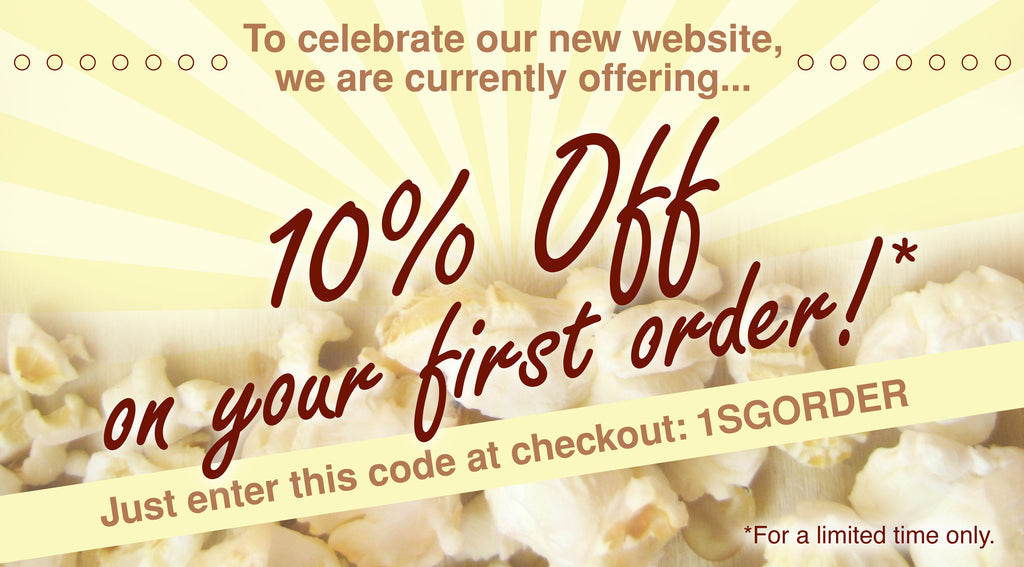 10% Off on your first order!
