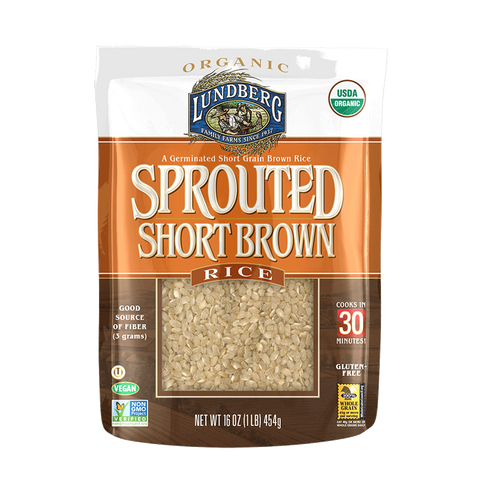 Lundberg Sprouted Short Brown Rice