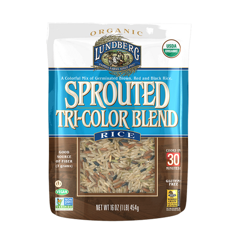 Lundberg Sprouted Tri-colour Rice Blend