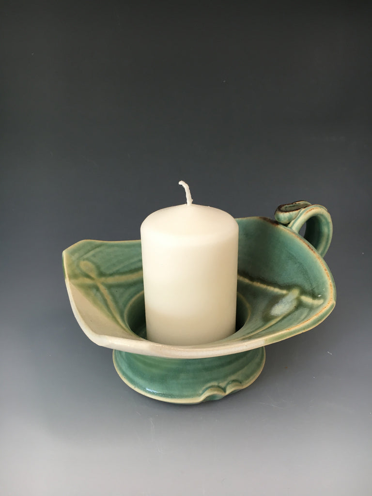 Candle Holder w/ Candle