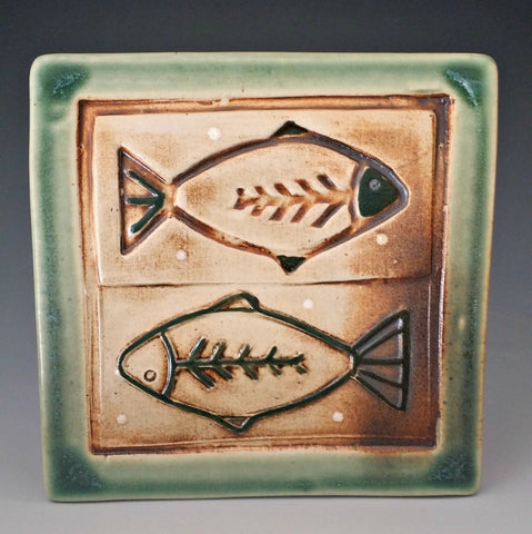 Double Fish Tile