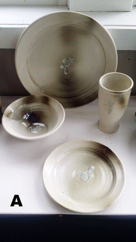 4 Piece Dinnerware Set
