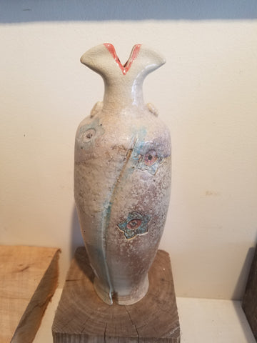 Woodfired vase #21 SOLD