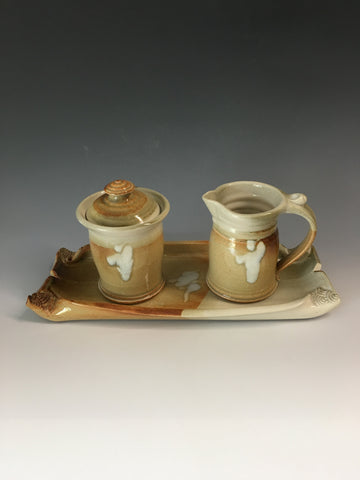Cream & Sugar Set w/ Platter