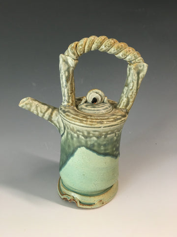 Rope Handled Teapot