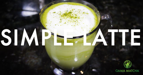 Simple Matcha Latte