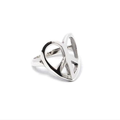 Peace Love Ring