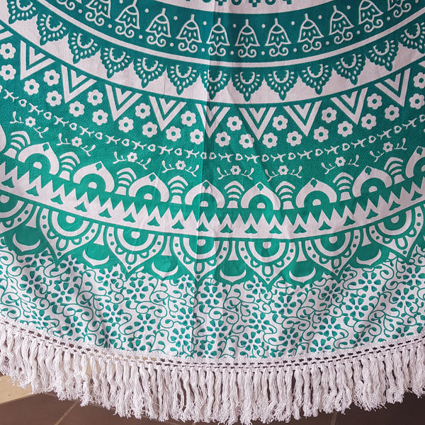 Green Shades with Tassel Fringe