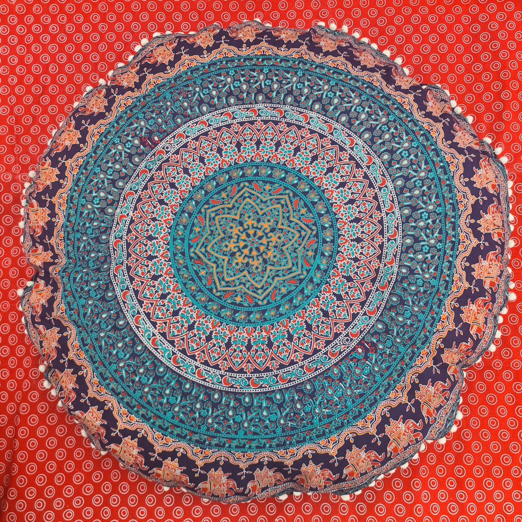 Earthchild Floor Pillow Cover
