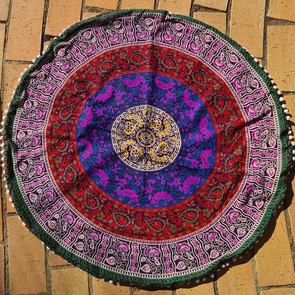 Gypsy Soul Floor Pillow Cover