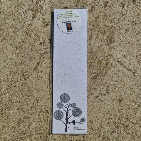 Mandala Tree - Growing Paper Bookmark
