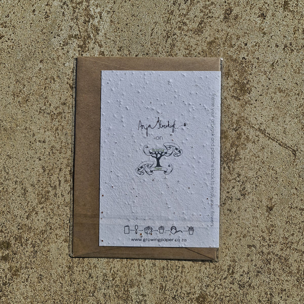 Utterly Amazing - Growing Paper Greeting Card