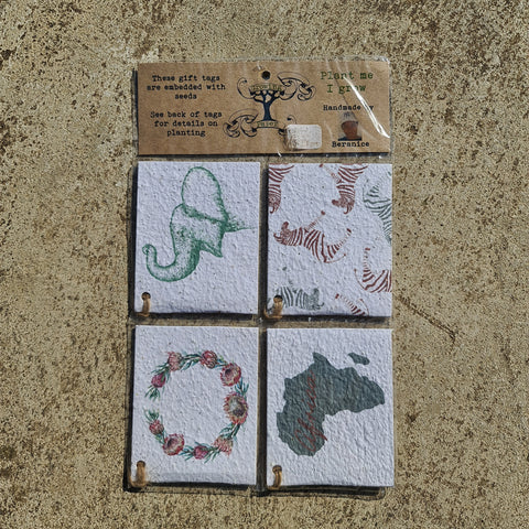 Africa Gift Tag Pack