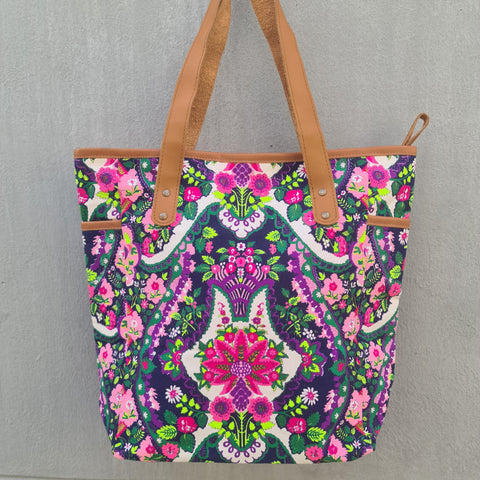 Thailand Canvas Tote Bag - Kaleidoscope