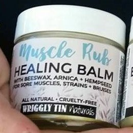 Muscle Rub (Arnica with Hemp Seed)