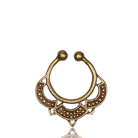 Gypsy Septum Ring - Clip on