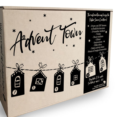 Advent Town Christmas Calendar