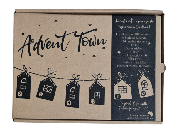 Advent Town Christmas Calendar (*STRICTLY PRE-ORDERS ONLY!)