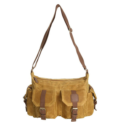 Canvas Handbag - Mustard