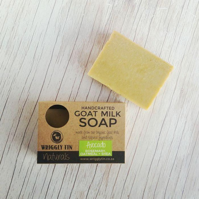 AVOCADO - Rosemary, Oatmeal + Shea Goat Milk Soap