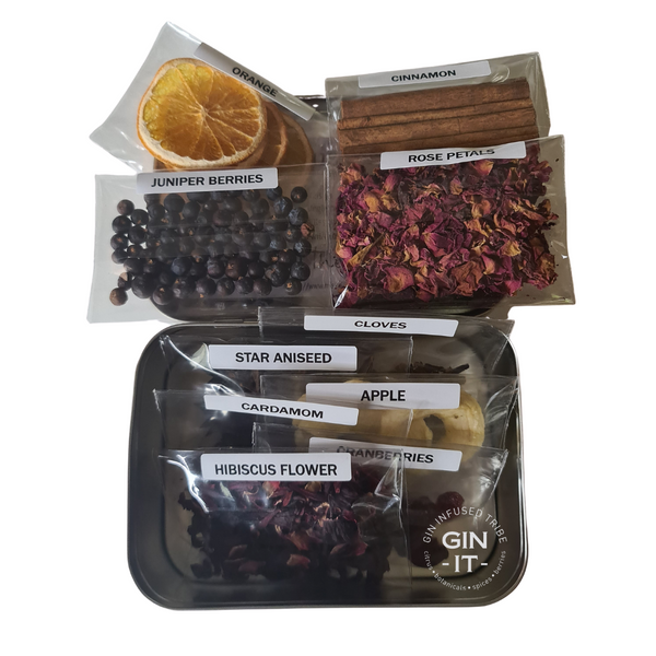 Gin Infusion Kit 5 - (10 Ingredients)